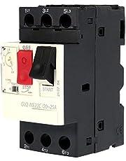 GV2-ME01C/ME02C/ME03C/ME04C/ME05C/ME06C/ME07C/ME08C/ME10C/ME14C/ ME16C/ME20C/ME21C/ME22C/ME32C/ME32C Interruptor de protección del motor Disyuntor del motor negro