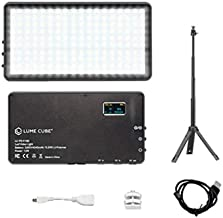 Lume Cube Broadcast Lighting Kit for Live Streaming, Gaming, Remote Working, and Video Conferencing - Lighting for Twitch, Mixr, Live Streaming