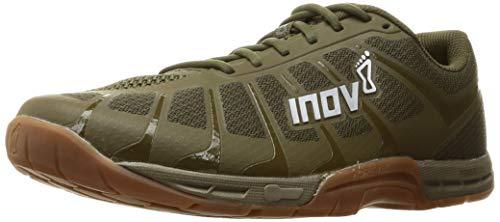 Inov-8 Mens F-Lite 235 V3 - Ultimate Supernatural Cross Training Shoes - Flexible and Lightweight - Khaki/Gum - 10.5