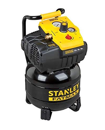 Stanley–Compresor sin aceite Vertical 24L 1,5HP