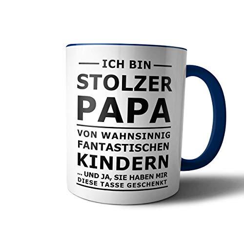 creativgravur® Tasse mit Spruch STOLZER PAPA, STOLZE MAMA Kaffeetasse Kaffeebecher Kaffeepot Frühstückstasse Bürotasse, Motiv:Motiv 09