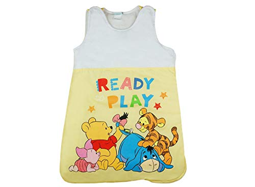 Disney Baby ärmelloser Schlafsack mit süße Winnie Pooh Motiv, Unisex, Gr.: 0-3 Monate (0-3 Monate)