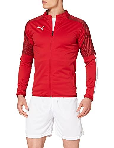 PUMA Cup Sideline Jacket Chaqueta De Entrenamiento, Hombre, Chili Pepper-PUMA Red, XL