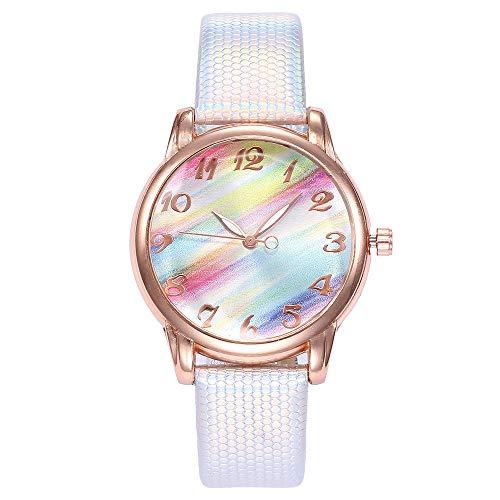 Frauen Beiläufig Quartz Lederband Uhr analoge Armbanduhr YunYoud günstige armbanduhren schmuck pilotenuhr gehäuse handuhr digitaluhren Frauen markenuhren holzuhren