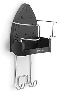 Brabantia 385742 Support Mural pour Table / Fer-Vapeur Noir / Chrome