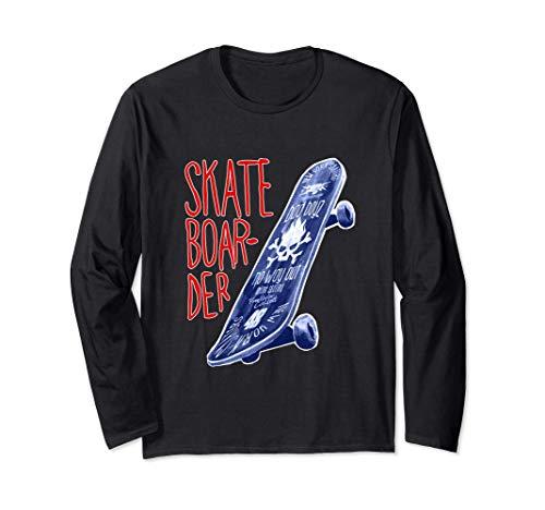 Skateboarder Xtreme Sports Langarmshirt