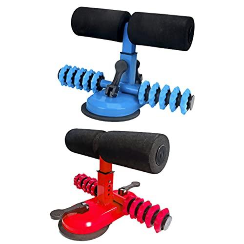 Unknows - Asistente para sentarse, ajustable para barra de sentarse con rodillo de masaje, equipo de fitness