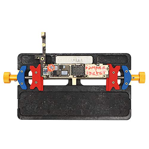 DIYPHONE Heat Resistant Phone Motherboard Jig PCB Board Holder Fixture with BGA Groove for iPhone 6 6S 6SP 7 7P 8 8P X XR PCB Repair