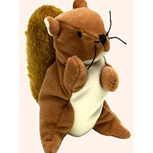 1999 McDonalds Happy Meal Toy Ty Teenie Beanie Babies #8 Nuts the Squirrel Plush by McDonald's by McDonald's