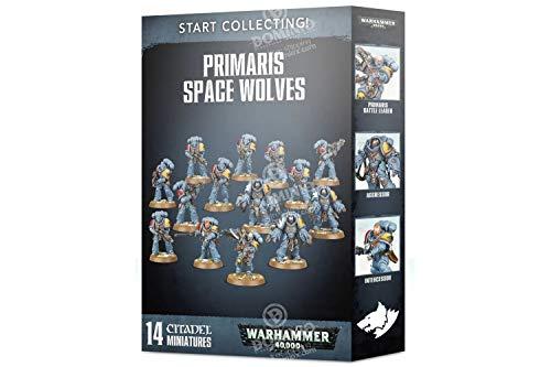 Games Workshop Start Collecting! Primaris Space Wolves