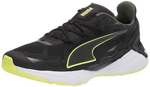 PUMA Ultraride, Zapatillas para Correr de Carretera Hombre, Negro Black/Elektro Green White, 44 EU
