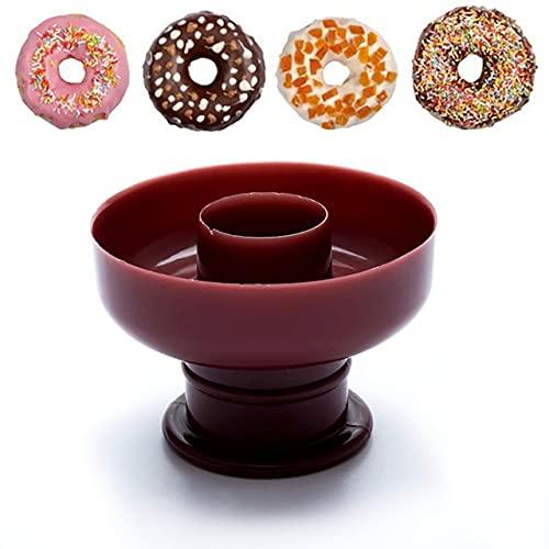 DIY Donut Maker Antiadherente Hornear Pastelería Galleta Molde de Chocolate Muffin Molde de Pastel Herramientas de Decoración de Postres