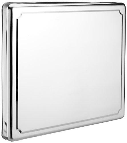 Jocca 6414Edelstahl Herdabdeckplatte Displayschutzfolie, Silber, 60.5 x 52.5 x 5.5