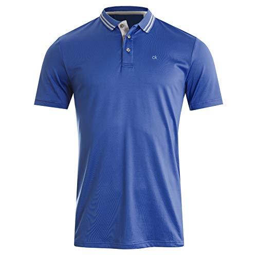 Calvin Klein Madison Polo Shirt Chemise de Golf, Bleu Marine, XXL Homme