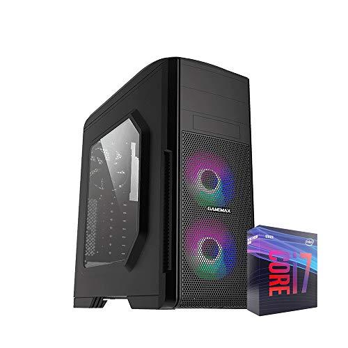 Ordenador Sobremesa Intel i7 8700 4.60 GHz Turbo, 16Gb Ram, T.Gràfica Intel Ultra-HD 630, SSD 480GB, Windows 10, WiFi 300mbps