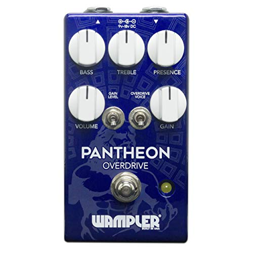Wampler Pantheon Overdrive Guitar Effects Pedal