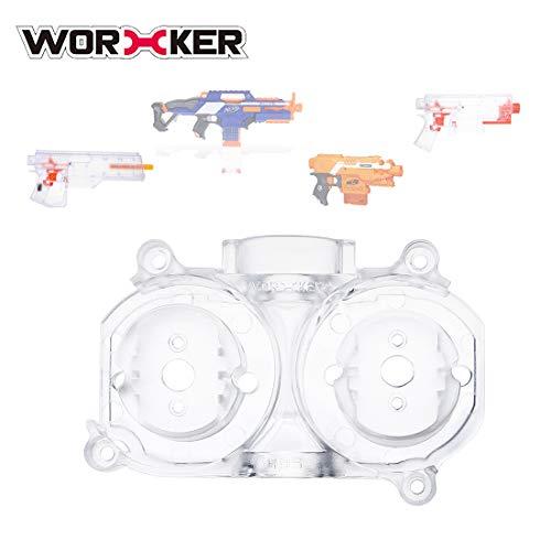 BOROK Worker Mod Flywheel Cage Schwungrad Käfig Lager Nerf Zubehör für Nerf Rapidstrike CS-18/Nerf Stryfe/Worker Swordfish/ Worker Dominator