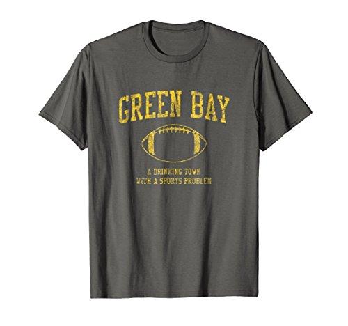 Green Bay Football T-Shirt - Sports Town Drinking Tee