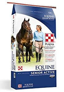 Purina Mills Equine Senior Active Low in starch and sugar