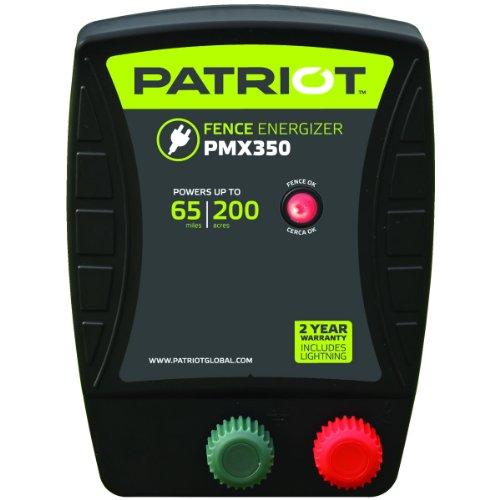 Patriot PMX350 Electric Fence Energizer, 3.5 Joule