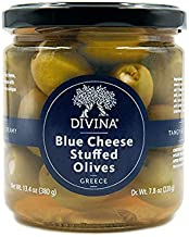Divina Olives Stuffed With Blue Cheese 7.8 Oz. (Pack of 6)