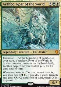 Arahbo, Roar of the World - Commander 2017