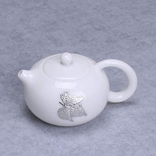 YJX Tetera de cerámica para el Cuidado de la Salud cafetera de Tetera con Filtro Individual