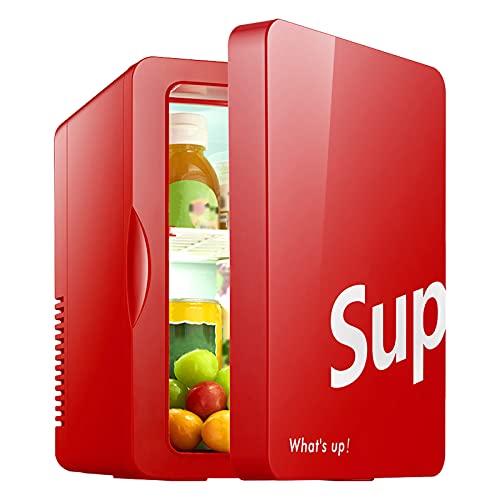 Apertura Lateral Mini Refrigerador 6L Portátil Coche Nevera Frigorífico Mini Bar Neveras Pequeño Congelador para Dormitorio Oficina Apartamento Coche Casa Hoteles Viajes
