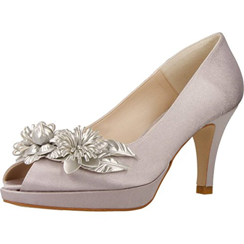 Ángel AlarcÓn Zapatos Tacon 17523 392 Mujer Gris