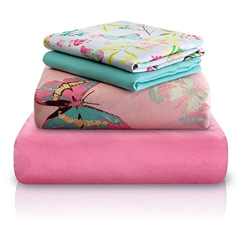 """Chital Twin Bed Sheets for Girls 