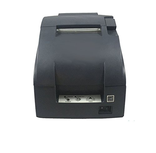 Affordable TM-U220B, Impact, two-color printing, 6 lps, USB interface, Auto-cutter, Solid Cover, Dar...