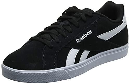 Reebok Unisex ROYAL COMPLETE3LOW Tennisschuhe, Black/White, 45 EU