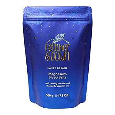 Feather & Down Sweet Dreams Magnesium Sleep Salts, 500 ml