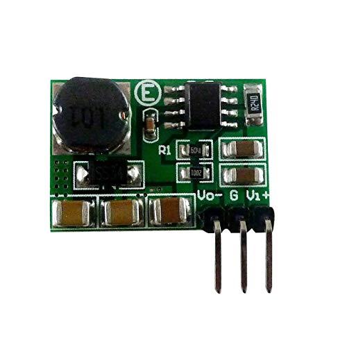 3-15V a -3.3V / -5V / -6V / -9V / -12V +/- Voltaje Negativo DC DC Módulo convertidor ADC DAC LCD Fuente de alimentación Soldadura Boost-Buck (Multicolor) ESjasnyfall