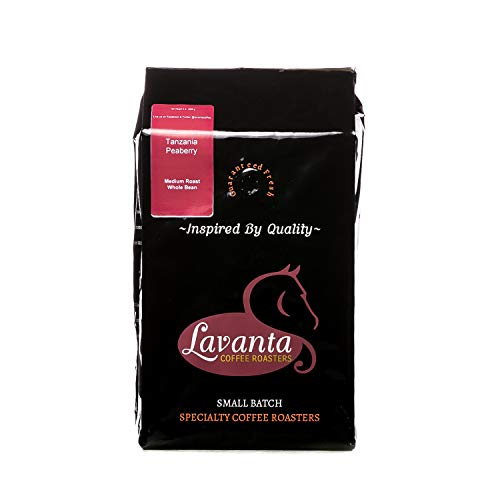 5lbs Tanzania Peaberry Medium Roast Whole Bean