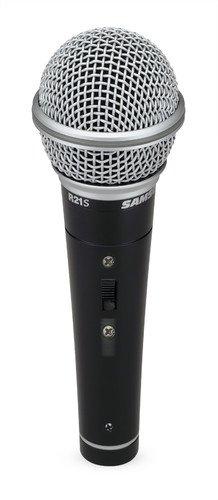 Samson R 21 S - Micrófono (con 5 m de cable y pinza) - Micro dinámico R21 SW