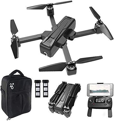 JIAWYJ YANGLOU-Aviones de Juguete- Drone GPS con cámara para Adultos 1080p HD Video en Vivo, Drone Plegable para Principiantes, Sígueme, Mantenga en la altitud y 5G Transmisión de WiFi/QCCMXXWRJ-350