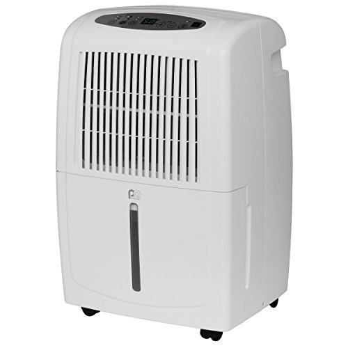 Perfect Aire 1PEDP50 Ejector Pump 50 Pints/Day Dehumidifier, Adjustable Humidistat, Timer, Washable Filter, 3000 Sq Ft Coverage