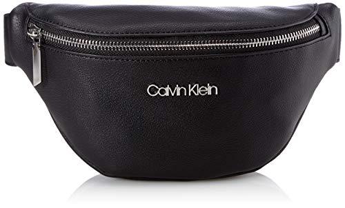 Calvin Klein WAISTBAG, BOLSA DE CINTURA para Mujer, Black, 28 Inches, Extra-Large