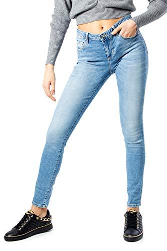 Guess Jeans Donna Annette w01a99d38r4 w29 l30 Denim Chiaro