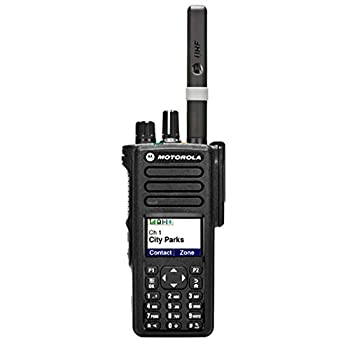 Motorola XPR 7550e UHF 403-512 Digital Display Portable Two-Way Radio Bluetooth WIFI AAH56RDN9RA1AN
