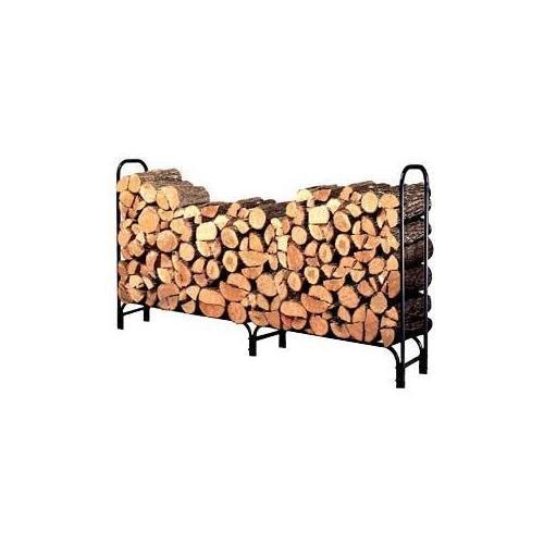 Landmann USA Landmann 82433 8-Foot Firewood Log Rack Only, 8-Feet, Black