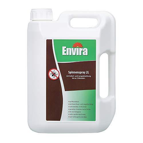 Envira Spinnen-Spray - Anti-Spinnen-Mittel Mit Langzeitwirkung - Geruchlos & Auf Wasserbasis - 2 Liter