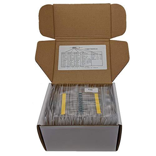 Joe Knows Electronics 1/4W 1% 86 Value 860 Piece Resistor Kit