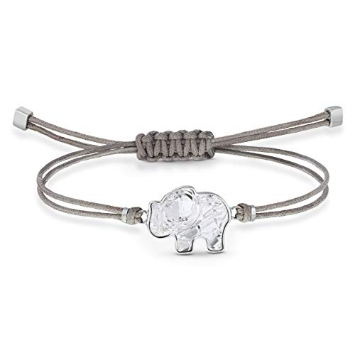 Swarovski Power Collection Elephant Armband, Grau, Edelstahl
