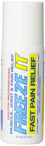 Freeze It Advanced Therapy Gel, Roll on, 3-Ounce by Expedite Products, Inc. (English Manual)