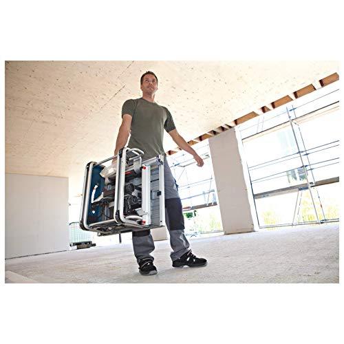 Bosch Professional GTS 10 J, 254 mm Sägeblattdurchmesser, 642 x 572 mm Tischgröße, Absaugadapter, Schiebestock, Sägeblatt, Winkelanschlag, Parallelanschlag - 5