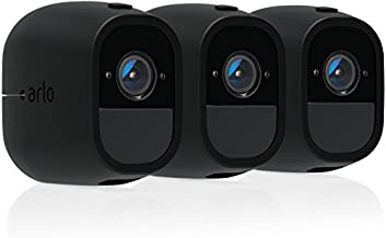 Arlo Certified Accessory - Skins | Set of 3 – Black | Compatible with Arlo Pro only| (VMA4200C)