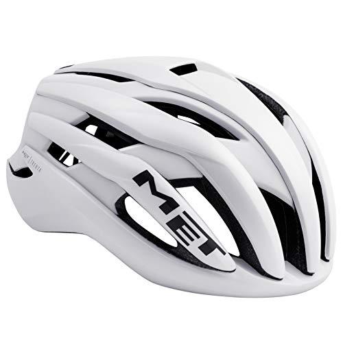 Met-Rx Trenta, Casco da Bicicletta. Unisex-Adulto, Bianco, L