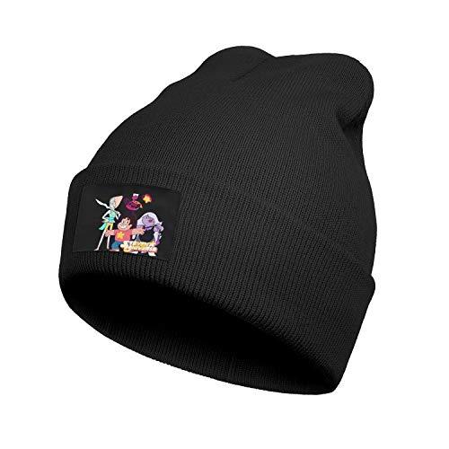 JIOJSDS Man Women Kids Knit Caps Steven-Universe-Role-Aggregation- Beanie Hat Sports Cartoon Skull Cap